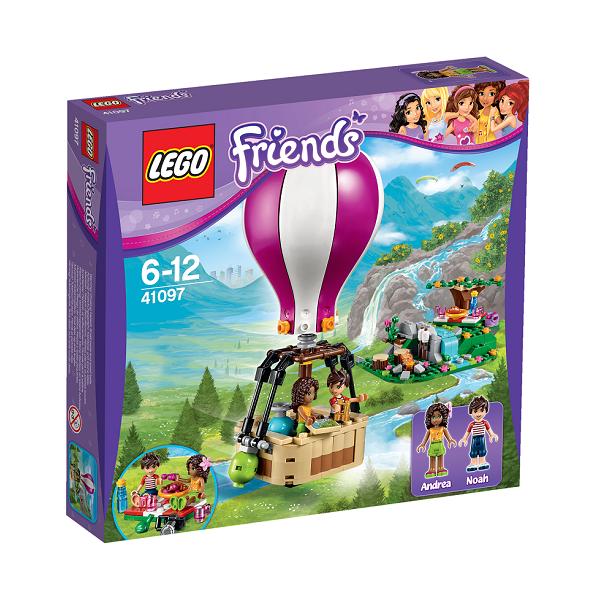 Image of   Heartlake varmluftballon - 41097 - LEGO Friends