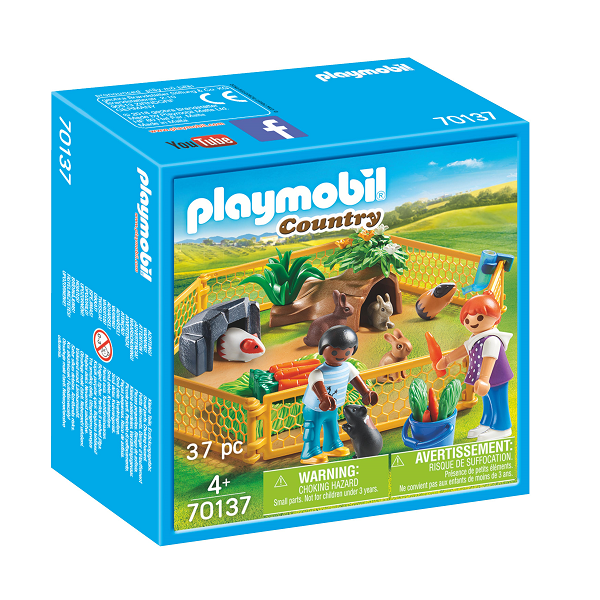 Image of Hegn til gårddyr - PL70137 - PLAYMOBIL Country (PL70137)