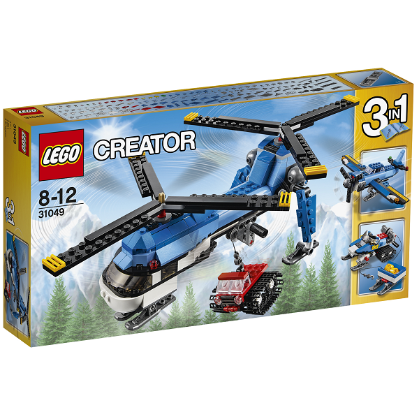 Image of Helikopter med to rotorer - 31049 - LEGO Creator (31049)