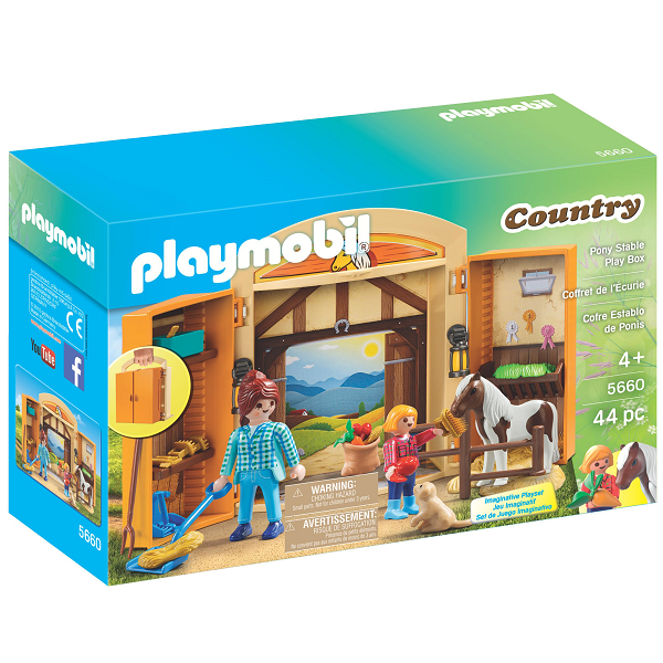 Image of   Heste Legebox - PL5660 - PLAYMOBIL Country