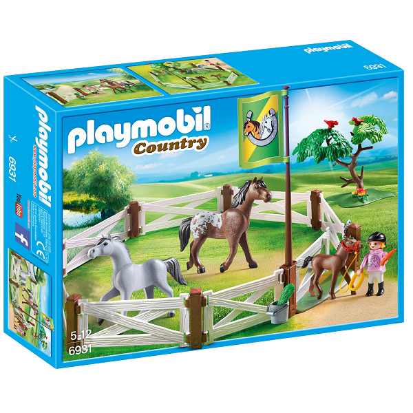 Image of Hestefold - PL6931 - PLAYMOBIL Country (PL6931)