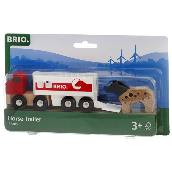 Hestetrailer - 33405 - BRIO Tog