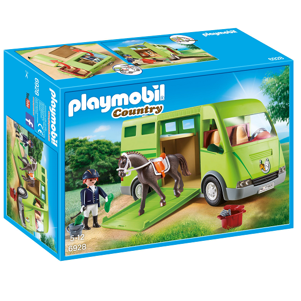 Image of Hestetransporter - PL6928 - PLAYMOBIL Country (PL6928)