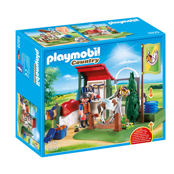 Image of Hestevaskeplads - PL6929 - PLAYMOBIL Country (PL6929)
