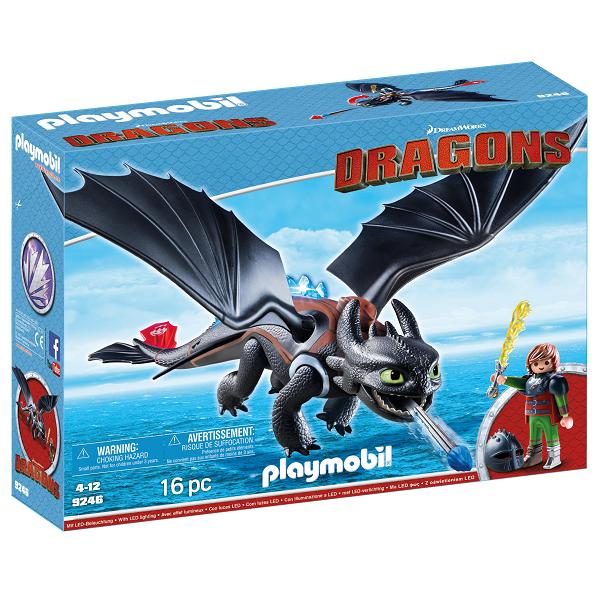 Image of Hikke og Tandløs - PL9246 - PLAYMOBIL Dragons (PL9246)