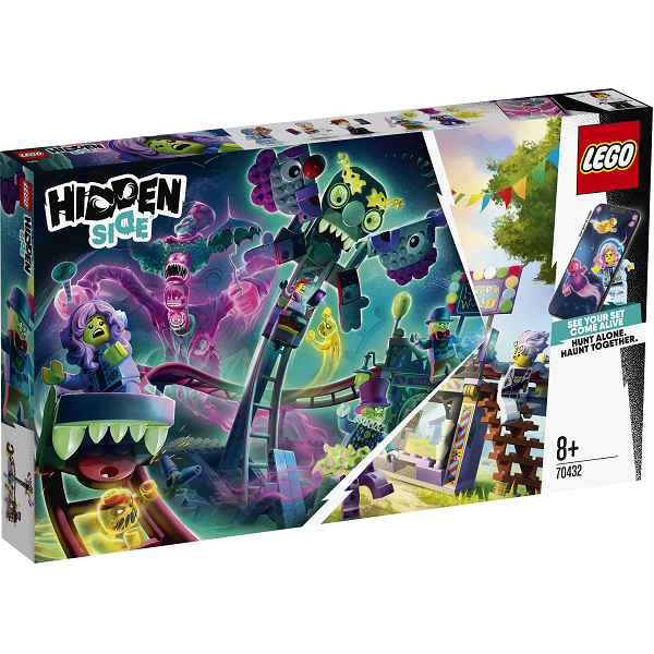 Image of   Hjemsøgt forlystelsespark - 70432 - LEGO Hidden Side