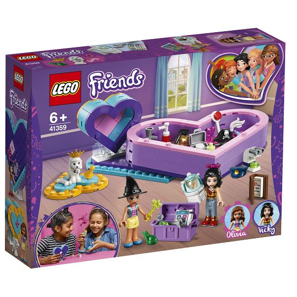 Image of   Hjerteæske-venskabspakke - 41359 - LEGO Friends