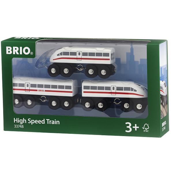 Højhastighedstog med lyd - 33748 - BRIO Tog