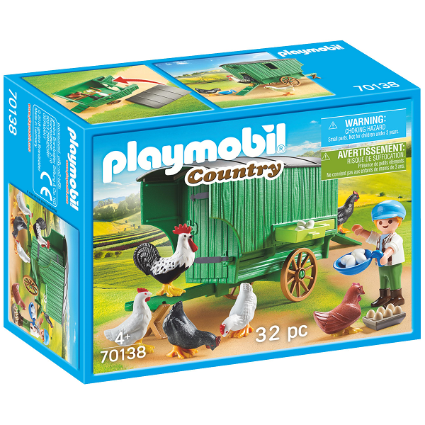 Image of Hønsehus - PL70138 - PLAYMOBIL Country (PL70138)