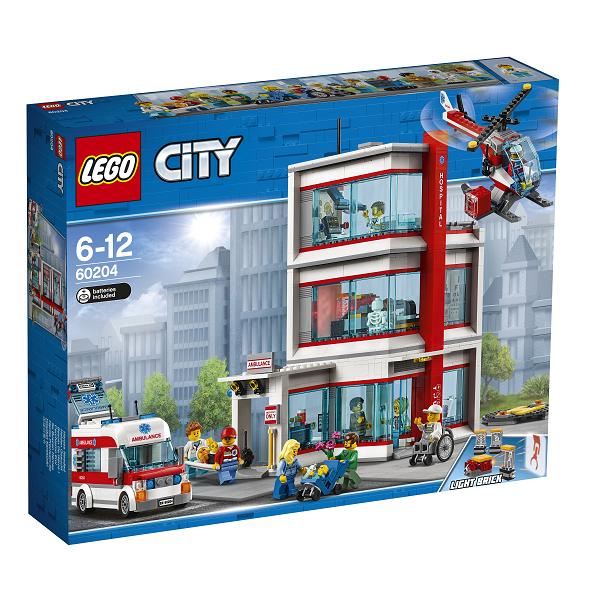 Image of LEGO City hospital - 60204 - LEGO City (60204)