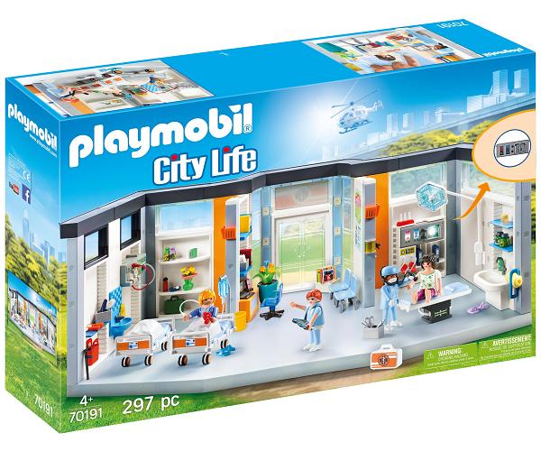 Image of Hospitalsstue til børn - PL70192 - PLAYMOBIL City Life (PL70192)
