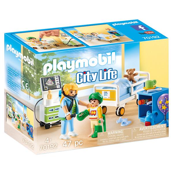 Image of   Hospitalsstue til børn - PL70192 - PLAYMOBIL City Life