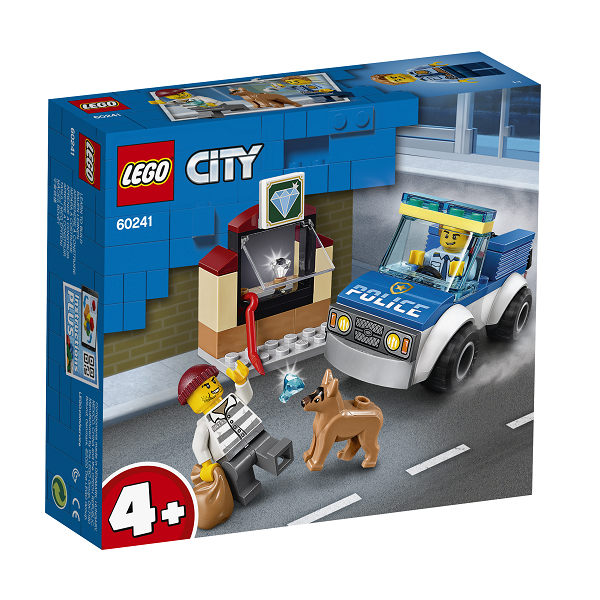 Image of   Hundepatrulje - 60241 - LEGO City
