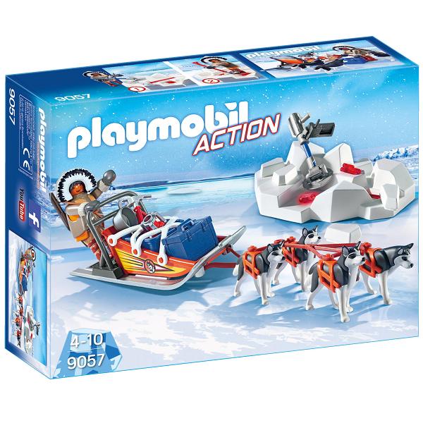 Hundeslæde - PL9057 - PLAYMOBIL Action