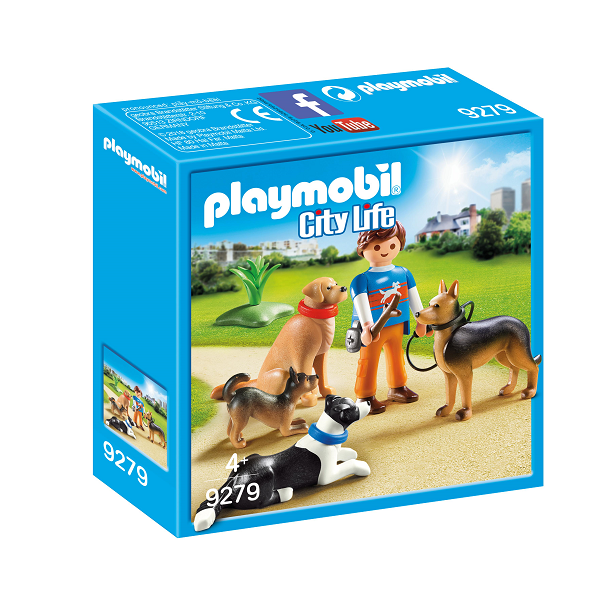 Image of Hundetræner - 9279 - PLAYMOBIL City Life (PL9279)