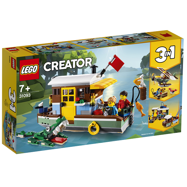 Image of Husbåd - 31093 - LEGO Creator (31093)