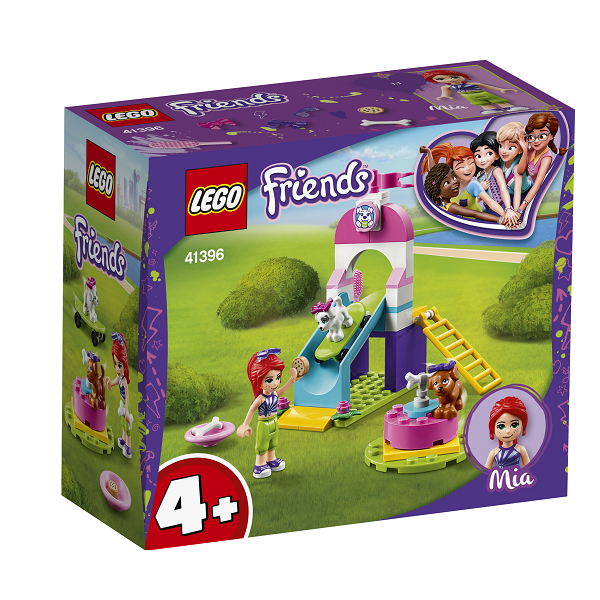 Image of Hvalpelegeplads - 41396 - LEGO Friends (41396)