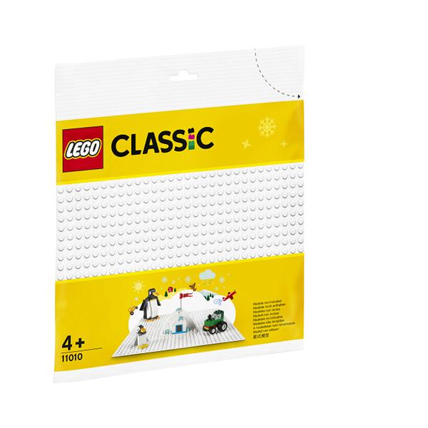 Image of Hvid byggeplade - 11010 - LEGO Bricks & More (11010)