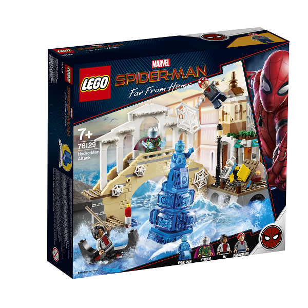 Image of Hydro-Mans angreb - 76129 - LEGO Super Heroes (76129)