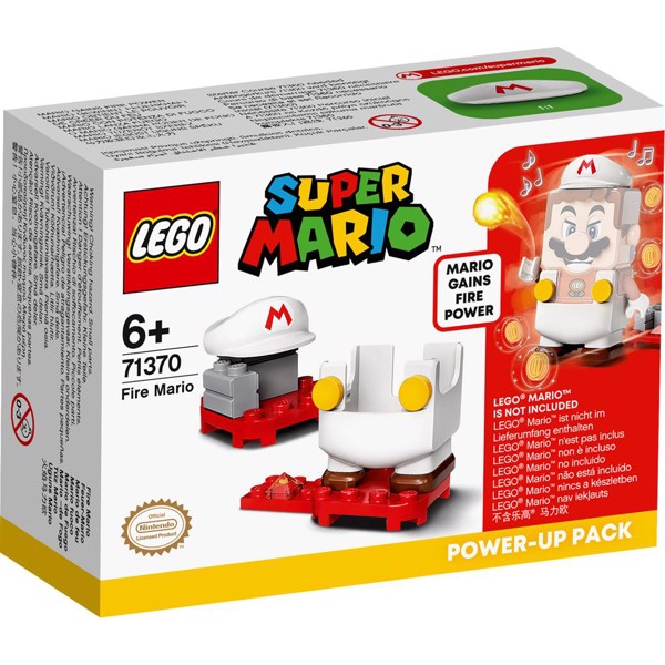 Image of Ild-Mario powerpakke - 71370 - LEGO Super Mario (71370)