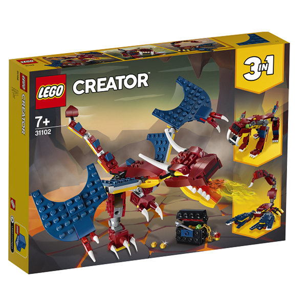 Image of Ilddrage - 31102 - LEGO Creator (31102)