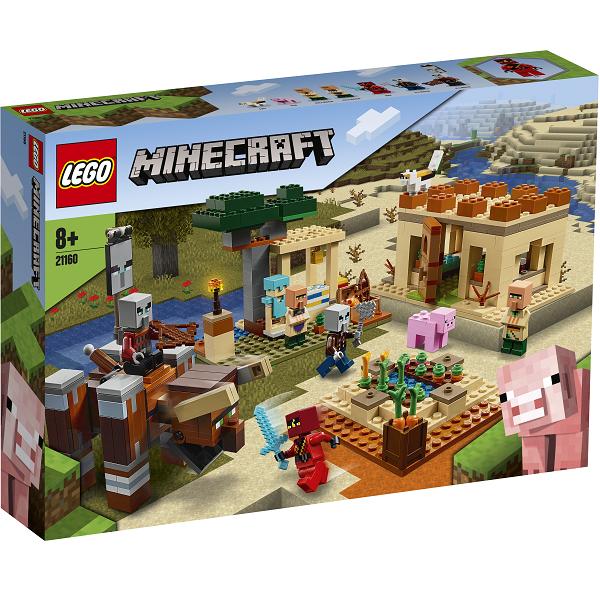 Image of Illager-angrebet - 21160 - LEGO Minecraft (21160)