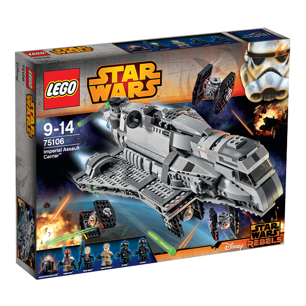Image of   Imperial Assault Carrier - 75106 - LEGO Star Wars