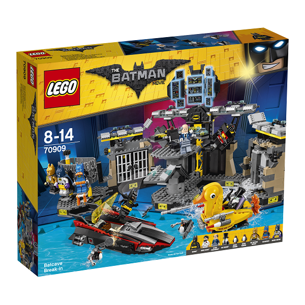 Indbrud i bathulen - 70909 - LEGO Batman Movie