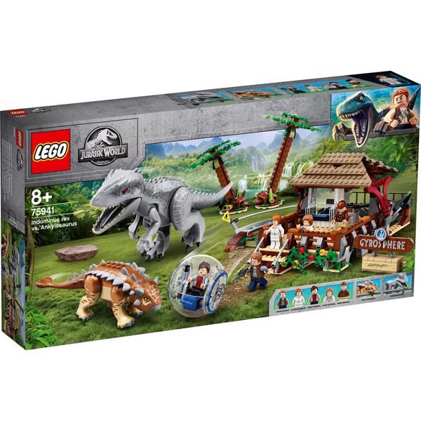 Image of Indominus rex mod ankylosaurus - 75941 - LEGO Jurassic World (75941)