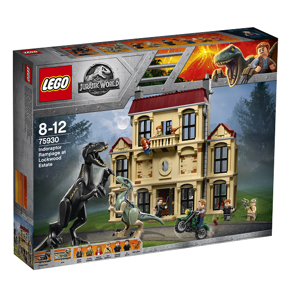 Image of Indoraptor-kaos på Lockwood Estate - 75930 - LEGO Jurassic World (75930)