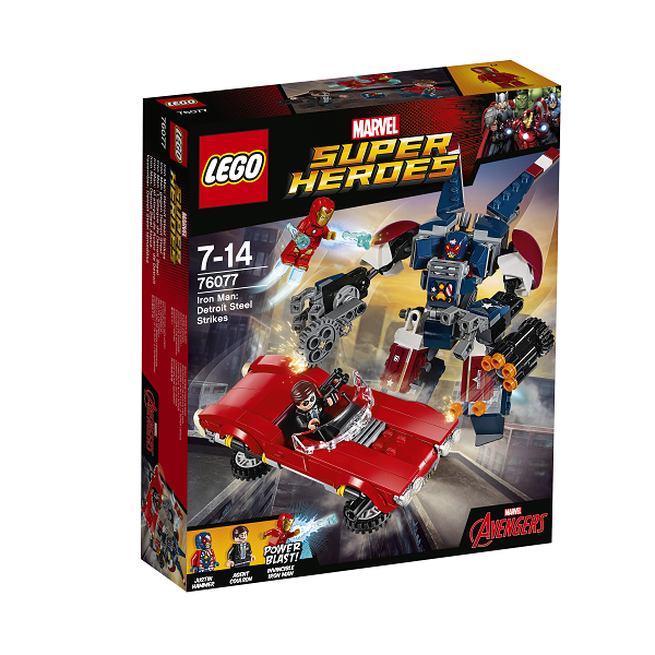 Iron Man: Detroit Steels angreb - 76077 - LEGO Super Heroes