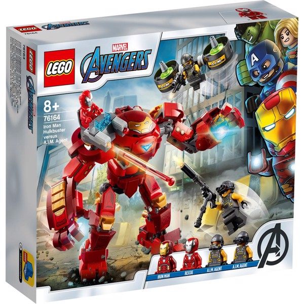 Image of Iron Man Hulkbuster - 76164 - LEGO Super Heroes (76164)