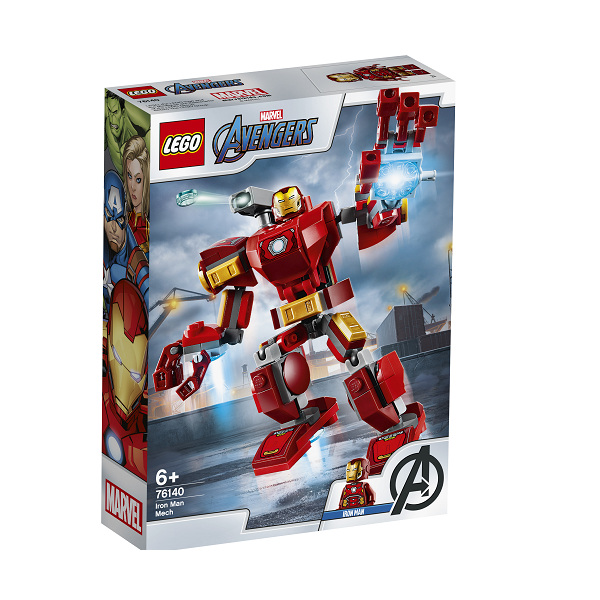 Image of Iron Man-robot - 76140 - LEGO Super Heroes (76140)
