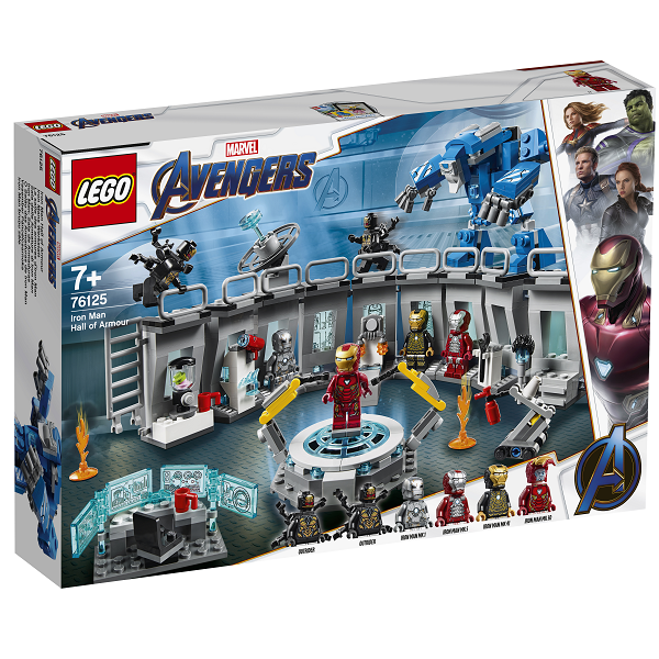 Image of Iron Mans dragtgalleri - 76125 - LEGO Super Heroes (76125)