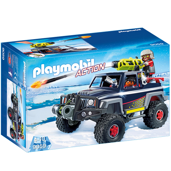 Image of Is-pirater med lastbil - PL9059 - PLAYMOBIL Action (PL9059)