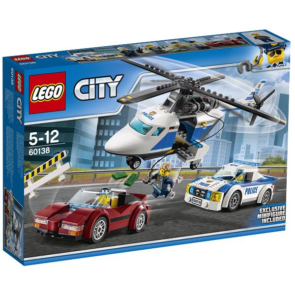 Image of Jagt i høj fart - 60138 - LEGO City (60138)