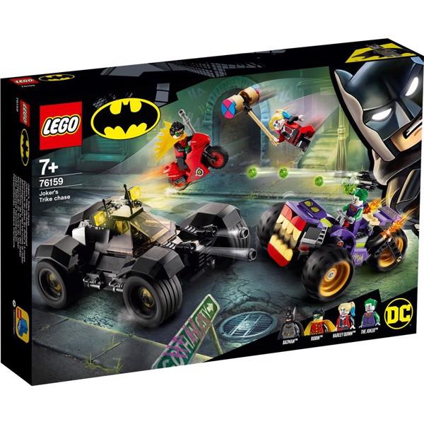 Image of Jagt på Jokerens trehjuler - 76159 - LEGO Super Heroes (76159)