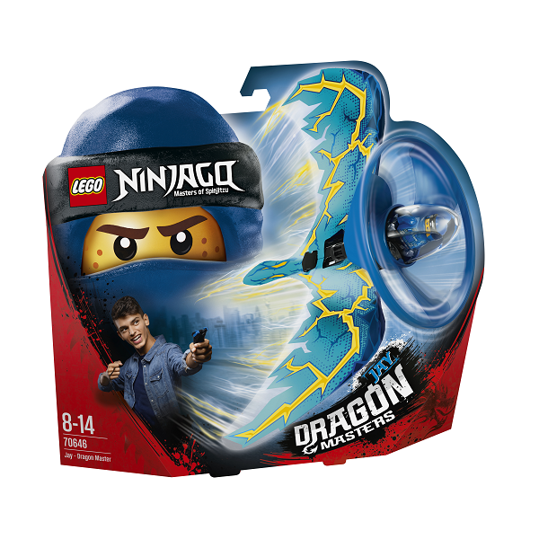 Image of   Jay # Dragemester - 70646 - LEGO Ninjago