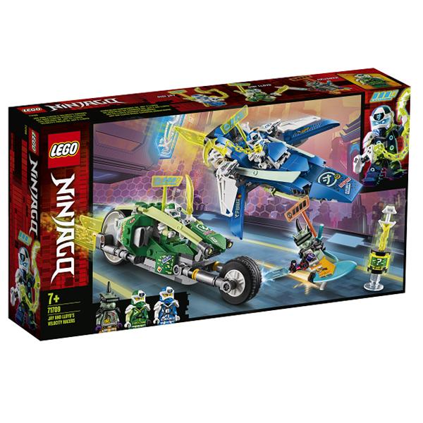 Image of   Jay og Lloyds superhurtige racere - 71709 - LEGO Ninjago