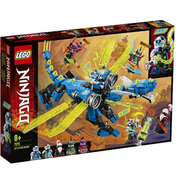 Image of   Jays cyberdrage - 71711 - LEGO Ninjago
