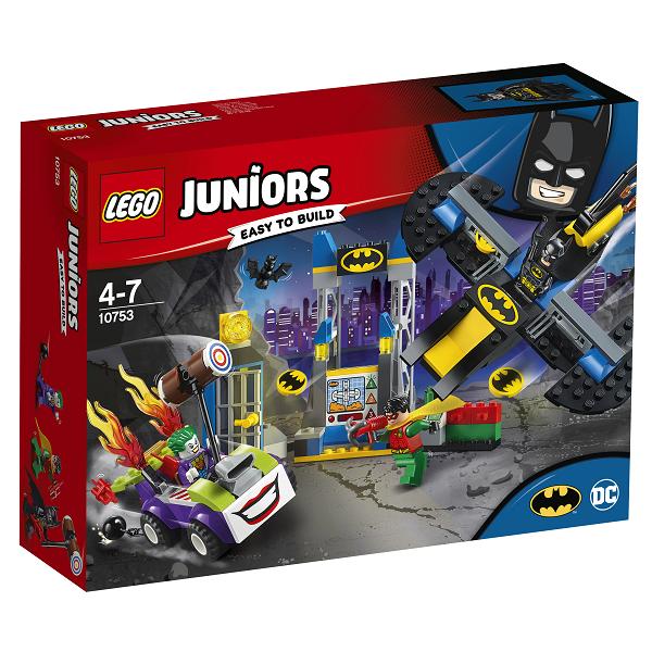 Image of Joker angreb på bathulen - 10753 - LEGO Juniors (10753)