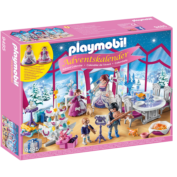 "Adventskalender ""Julebal i krystalsalen"" - 9485 - PLAYMOBIL Princess"