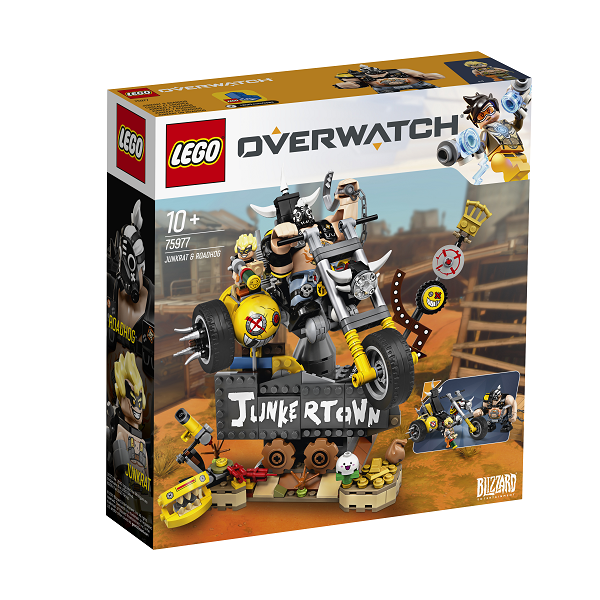 Image of   Junkrat og Roadhog - 75977 - LEGO Overwatch