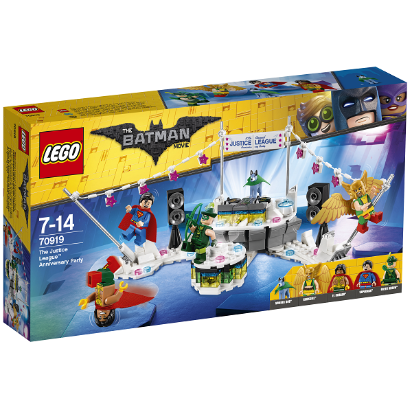 Image of   Justice League jubilæumsfest - 70919 - LEGO Batman Movie