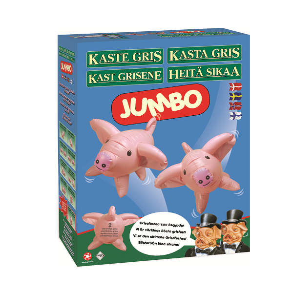 Kæmpe kaste gris - Fun & Games