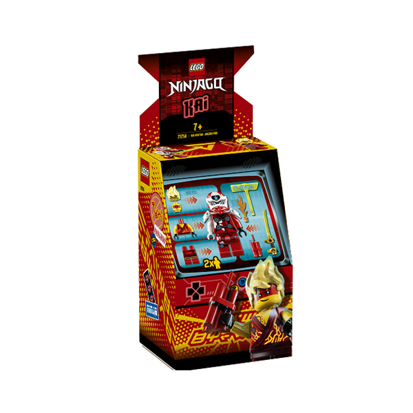 Image of   Kai-avatar - arkademaskine - 71714 - LEGO Ninjago