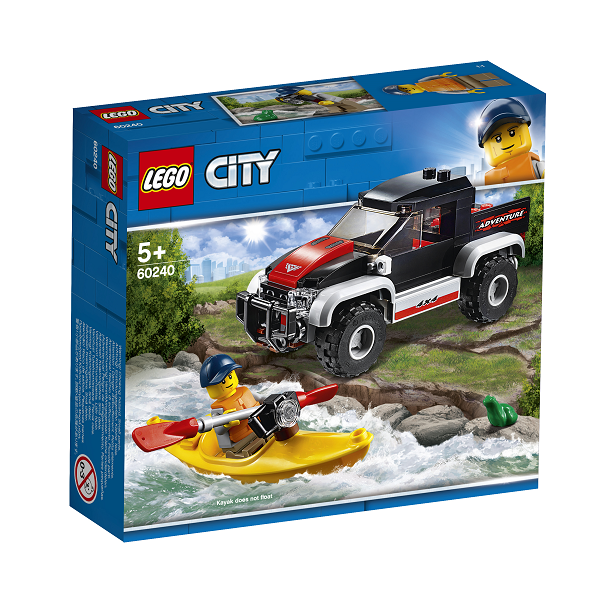 Image of   Kajakeventyr - 60240 - LEGO City