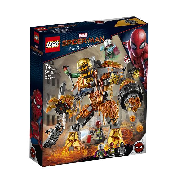 Image of   Kampen mod Molten Man - 76128 - LEGO Super Heroes