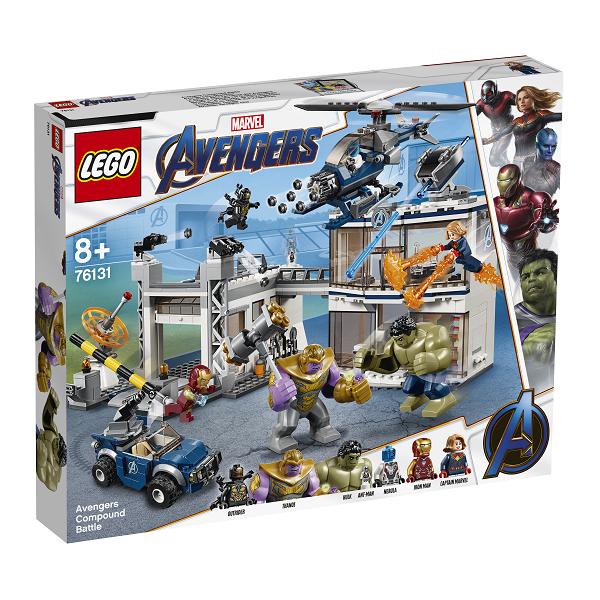 Image of Kampen om Avengers-basen - 76131 - LEGO Super Heroes (76131)
