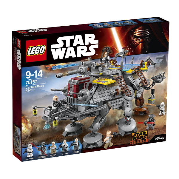 Image of   Kaptajn Rexs AT-TE - 75157 - LEGO Star Wars